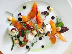 Blood orange and roasted hazelnut salad #indannyskitchen
