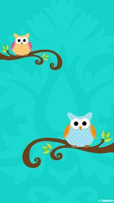 iPhone Wallpaper - Owls tjn