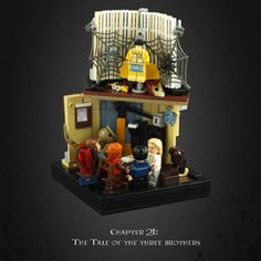Harry Potter and the Deathly Hallows 11 Xenophilius Lovegoods Home http://www.flickr.com/photos/ummwho/32247669595/
