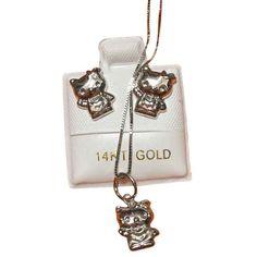 Pin by Mayura Kamnon on Hello Kitty gold and jewelry Pinterest