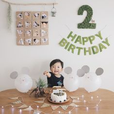 お誕生日準備まとめ : きなこ | PRESS [プレス] : Instagram [インスタグラム] を利用したブログサービス Boys First Birthday Cake, 1 Year Old Birthday Party, Birthday Photo Banner, 2nd Birthday Party Themes, Boy Birthday Parties, Birthday Photos, Birthday Balloons, Baby Birthday, Simple Birthday Decorations