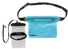 Unigear Impermeable Bolsa Con Correa Ajustable de Cintura 8 Color + Funda  Para Móvil hasta 6 b7fe19ced09