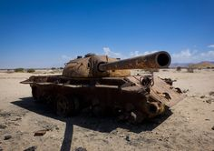 https://flic.kr/p/aSj7mD | Russian tank in Berbera - Somaliland |  Formerly a British colony, Somaliland briefly reached its independence in 1960. It is one of the three Territories, with Puntland and former Italian Somalia that compose the current State of Somalia. Somaliland proclaimed its independence in 1991, adopting its own currency, a fully independent government, working institutions and police. The authorities organized a referendum in 2001, advocating once again for full…