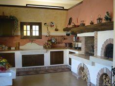 30 Cucine in Muratura Rustiche dal Design Classico | Kitchens, House ...