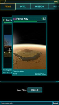 ... THIS IS ON MARS. Whoever first makes a field using this should just win the game...