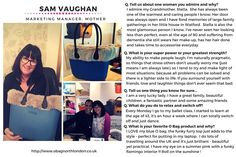 Our #WCW this week is Sam Vaughan, marketing manager and lovely mum.  We are so thrilled she shared her experiences with the #OBag London community!