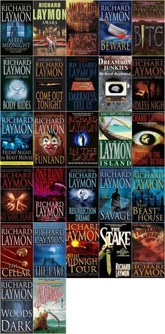Richard Laymon. My favourite author ever. I'm re-reading every book of his that I own lol