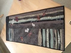 Birthe Schneider  Colors with combining machine and big stitch are wonderful