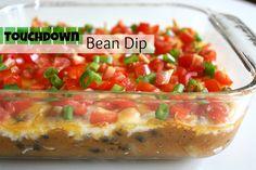 The Garden Grazer: Touchdown Bean Dip