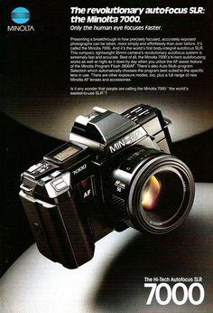 Minolta 7000 AF SLR