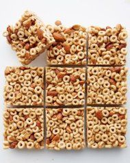 Homemade Honey Nut Cheerios Snack Bars
