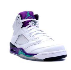 60464ca8f227 nike air jordan 5 retro grape white 2006 sneakers p 3236