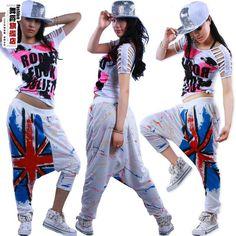 Hip hop style Dance Fashion, Hip Hop Fashion, Urban Fashion, Look Fashion, Teen Fashion, Hip Hop Outfits, Hipster Outfits, Urban Outfits, Dance Outfits