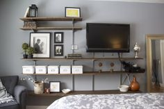 TV wall for Bedroom