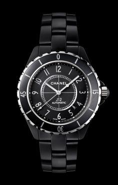CHANEL - Horlogerie - montre J12 NOIRE MATE - H3131
