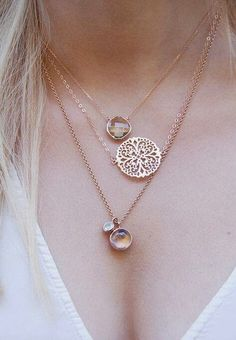 Imagem de jewelry and necklace