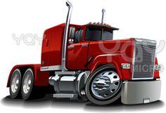 Cartoon Drawings of Semi Trucks   File 3: vector-cartoon-semi-truck-9e2d4c_325525 wednesday, 13 february ...