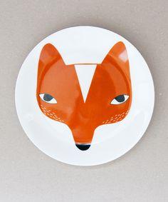 Donna Wilson Fox Plate