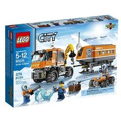 Amazon.com: LEGO City Arctic Outpost 60035 Building Toy: Toys & Games
