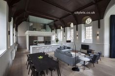 Fabulous conversion of Well Court Hall, Dean Village