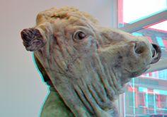 https://flic.kr/p/jq8QeD | Sculpture Virgilius Moldovan 3D | Sculpture Gallery Zic Zerp Rotterdam anaglyph stereo red/cyan Virgilius Moldovan