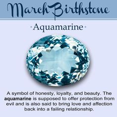 Aquamarine Gemstone-Birthstone of March There are two birthstones for people born in March, one of them is known as Aquamarine and the other one is called blood-stone. Aquamarine as evident from …