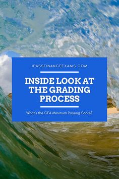 Studying for your #CFAexam, and wondering about the grading process? Check out our inside look and we'll shed some light for you! #CFA #accounting Exam Study Tips, Exams Tips, Chartered Financial Analyst, Exam Day, Exam Results, Test Prep, Studying, Scores, Accounting
