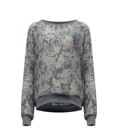 ☺♥ Wir sind ernsthaft besessen mit diesem Blumen bedruckten Sweatshirt! Pssst aus unserer neuen Kollektion - bald in den Stores erhältlich. Besuch uns @ www.facebook.com/mycolloseum?ref=hl
