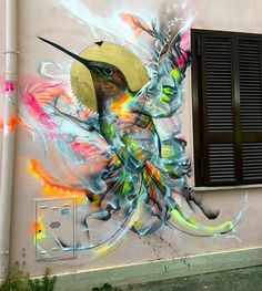 Opera realizzata dallo street artist brasiliano L7m a Roma. http://stores.ebay.com/urban-art-designs