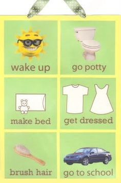 Cute charts. I'm desperate for a morning routine chart.