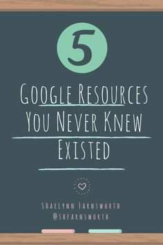 Google Resources You Never Knew Existed