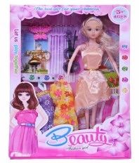 Gunnu Multicolour Plastic Doll