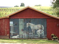 New Ringgold, PA Barn Art