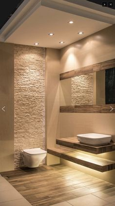 Contemporary bathrooms 622904192200890453 - Warm bathroom – Warm bathroom – Source by Contemporary Bathroom Designs, Bathroom Design Luxury, Modern Bathroom Design, Minimalist Small Bathrooms, Beautiful Small Bathrooms, Amazing Bathrooms, Bathroom Splashback, Warm Bathroom, Slate Bathroom