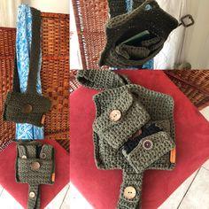 Pouch, Shoulder Bag, Crochet, Handmade, Bags, Handbags, Hand Made, Sachets, Shoulder Bags