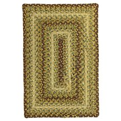 Outdoor Braided Area Rug Country Walk Rectangle The Indoor