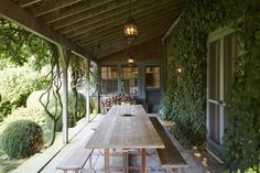I love everything about this porch