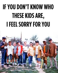 don't know who they are??!?? you're killing me, smalls!