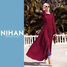 Yaz kolleksiyon nihan giyim Hijab Stile, Islamic Fashion, Islamic Clothing, Hijab Fashion, Style Fashion, Muslim, Formal Dresses, Clothes, Women