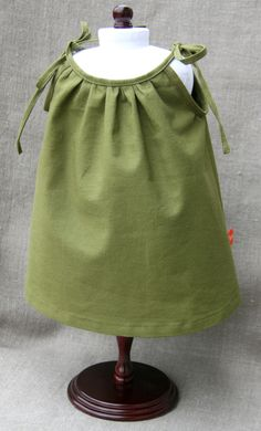 Petit Gosset Doll Cotton Nightgown. $25.00, via Etsy.