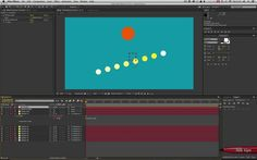 This 15 minute tutorial shows how to get After Effects layers to follow the animation of another layer with a delay. When using various layers with staggered delays, the animation appears to ripple through the layers like a wave.  The effect is set up using expressions to create a robust and centrally adjustable system. The tutorial is aimed at beginner to intermediate level (with expressions, that is, not After Effects in general!)