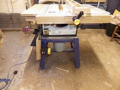 Picture of How to Make a Crappy Table saw Into a Good One