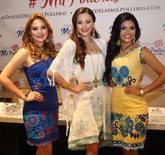 Rueda de prensa del desfile de las mil polleras, Bellisima nuestra reina y princesas K-lados de Panamá