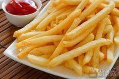 Receita de Batata frita sequinha - Comida e Receitas