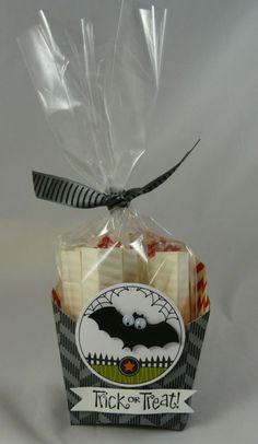 Halloween Fry Box Bat.  Really nice layout.
