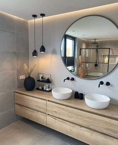 Bathroom Design Luxury, Home Interior Design, Washroom Design, Interior Modern, Interior Styling, Modern Furniture, Bathroom Inspiration, Home Decor Inspiration, Bathroom Inspo