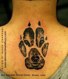 Done this Tattoo on the last day of 2016 ! ,Additionally, in many Native American traditions, the Wolf is a spiritual guide, guardian, and protector. ... In a sense, a Wolf Paw Tattoo is a way to show that you are progressing through your journey in life under the watchful eye of the Wolf totem. Tattoo by Akash Chandani Thanks for looking! Email for appointments - skinmachineteam@gmail.com Contact link in bio www.skinmachinetattooz.com