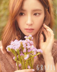 Shin Se Kyung Epitomizes Spring Goddess in Grazia May 2019 Pictorial - KdramaDaily Korean Actresses, Korean Actors, Asian Actors, Korean Beauty, Asian Beauty, Girls Channel, Bride Of The Water God, Shin Se Kyung, Sung Kyung