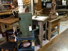The Redneck Designers brought in lots of vintage goodies at The BoneYard on Raymond hill. In Newnan GA