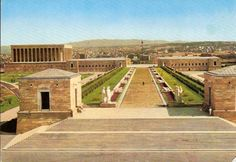 Ataturk's Mausoleum, Aslanli yol (the road with lions), Anitkabir, Ankara, Turkey